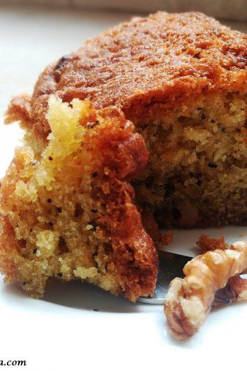 Easy walnut cake